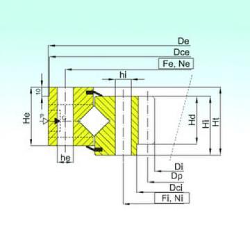 Cuscinetto ZR1.25.0946.400-1SPPN ISB
