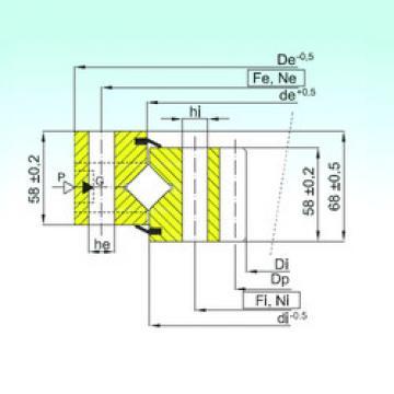Cuscinetto ZR1.16.1424.400-1SPPN ISB